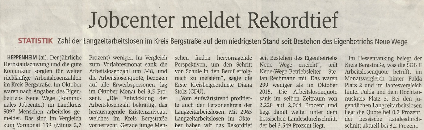 Quelle: Bergsträßer Anzeiger 04.11.2016
